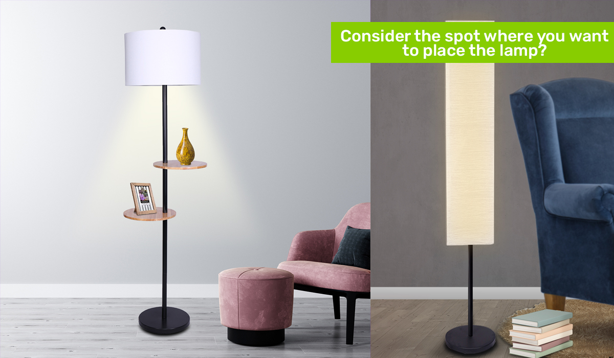 Floor Lamps from Pay Later Alligator
